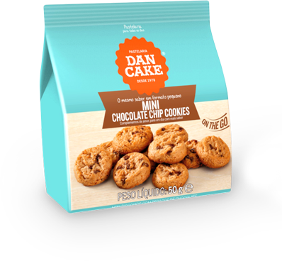 Mini Chocolate Chip Cookies — Imagem